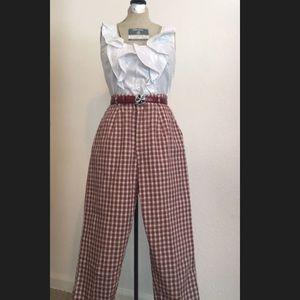 Vintage Crop Cigarette Pant